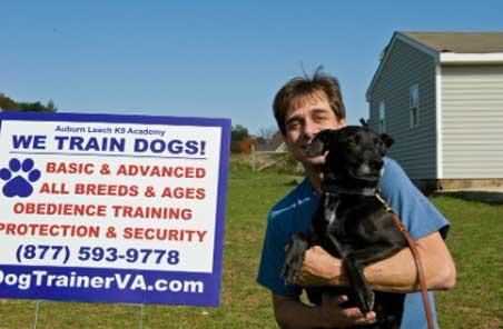 dog trainer va